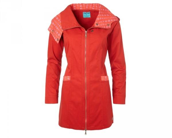 Jacke mantel rot