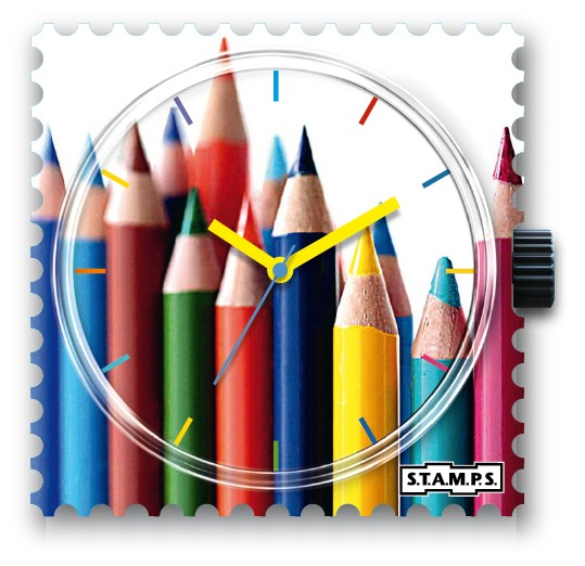 S.T.A.M.P.S. - Uhr - Crayoning - Stamps
