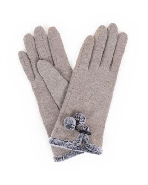 Abstand wählen Tropfenverschiffen neue sorten Powder - Handschuhe aus Wolle - Betty Wool Gloves - slate grau