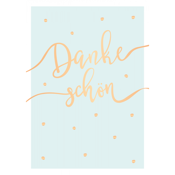 Maxi-Card - XXL-Karte DIN A4 - Dankeschön