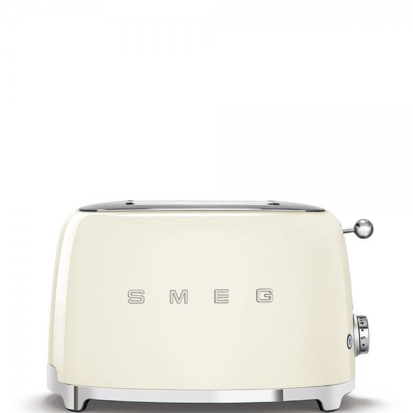 Smeg - Toaster - 50er-Jahre Design - 2-Schlitz - creme