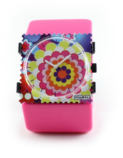 S.T.A.M.P.S. - Armband Belta Pink - ohne Uhr - Stamps
