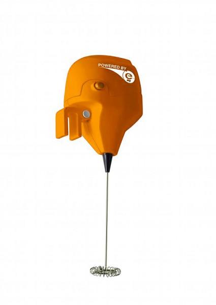 e-my - Milchaufschäumer - Bootsmotor - Offshore - orange