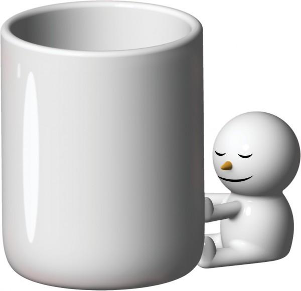 Alessi - Weihnachtsfigur - Tasse - The Hug Mug