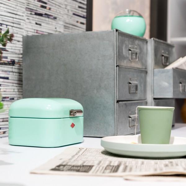 Wesco - Vorratsdose Aufbewahrungsbehälter Mini Grandy - mintgrün