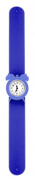 Pylones - Uhr Silikon Reflexarmband - My Time - blau