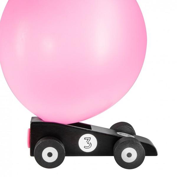 Donkey Products - Spielzeug-Auto mit Luftballon-Antrieb - Blackstar