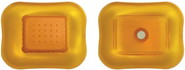 Alessi - Magnet - Mary Biscuit - Miniatur Keksdose - orange