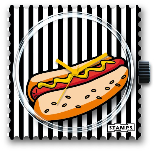S.T.A.M.P.S. - Uhr - Hot Dog - Stamps