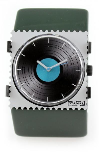 S.T.A.M.P.S. - Armband Belta Dunkelgrün - ohne Uhr - Stamps