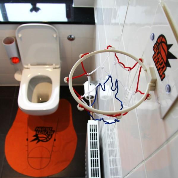 Basketball-Set fürs WC - Toilettenbasketball - Slamdunk