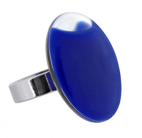 Pylones - Ring - Medium Galet Milk - Flüssigkeit dunkelblau