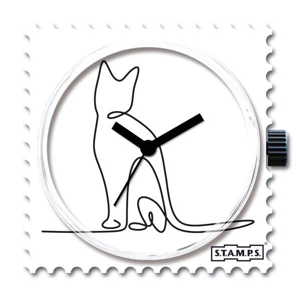 S.T.A.M.P.S. - Uhr - Stamps - Lovely Cat