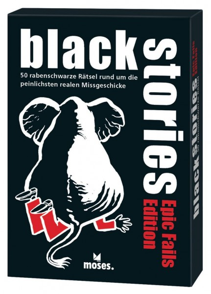 Moses Verlag - Black Stories - Epic Fails Fails Edition