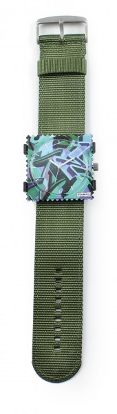 S.T.A.M.P.S. - Armband Jack Sporty Army - ohne Uhr - Stamps