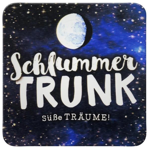 Gruss und Co - 3D-Kork-Untersetzer - Schlummertrunk