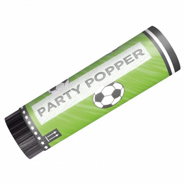 Party Popper Fußball Konfetti-Kanone Konfetti-Popper 2er-Ser