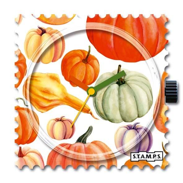 S.T.A.M.P.S. - Uhr - Stamps - Pumpkin