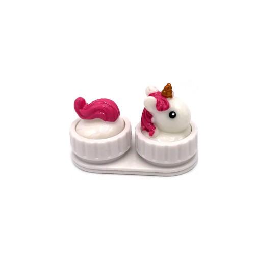 Invotis - Kontaktlinsenbox Einhorn - Unicorn Lense Case