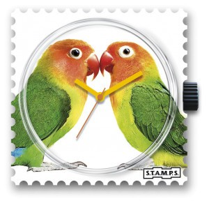 S.T.A.M.P.S. - Uhr - Lovebirds - Stamps
