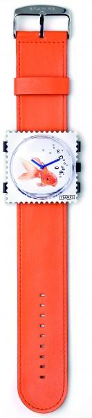 S.T.A.M.P.S. - Armband Orange - ohne Uhr - Stamps
