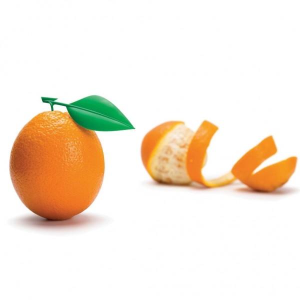 Monkey Business - Orangenschäler - Orangen-Blatt Design - Peel Appeal