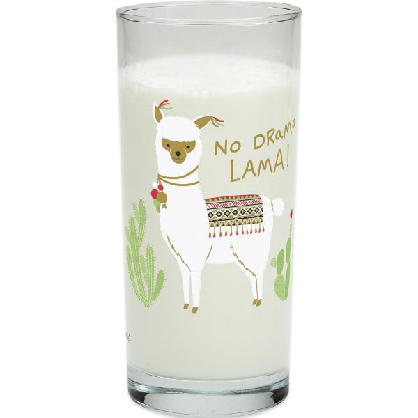 Happy Life - Trinkglas No Drama, Lama - 500ml