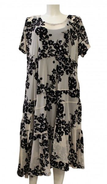 alembika - abendkleid kleid - evening dress - creme mit