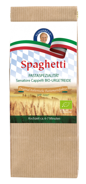 Schuhbecks Gewürze - Pasta Bio Spaghetti handgemacht - 400 Gramm