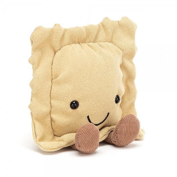 Jellycat - Kuscheltier Stofftier Spielzeug Pasta Nudeln - Amuseable Ravioli