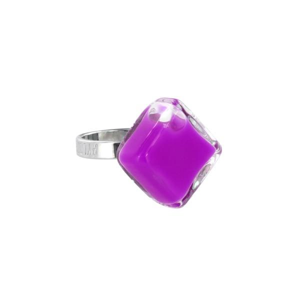 Pylones - Ring - Nano Losange Milk - Flüssigkeit lila violett