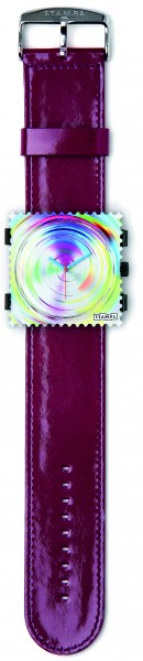S.T.A.M.P.S. - Armband Glossy Aubergine - ohne Uhr - Stamps