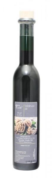 Walnussöl - 0,25 Liter kalt gepresst in edler Flasche