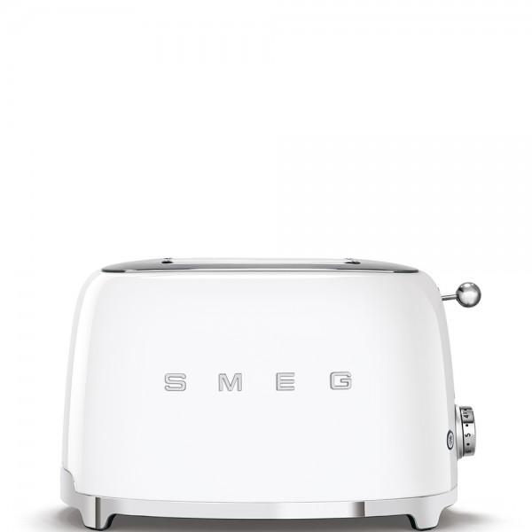 Smeg - Toaster - 50er-Jahre Design - 2-Schlitz - weiß