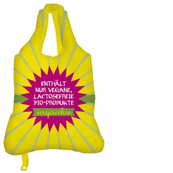 Faltbare Einkaufstasche Einkaufsbeutel - Bio-Produkte
