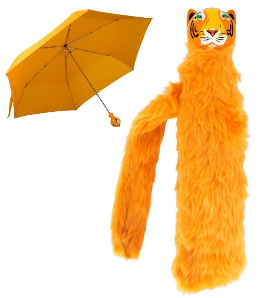 Pylones - Regenschirm Taschenschirm - Katze - Chapka - Tiger