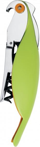 Alessi - Korkenzieher - Papagei - Parrot - grün