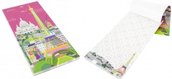 Pylones - magnetischer Notizblock - Formalist - Paris pink