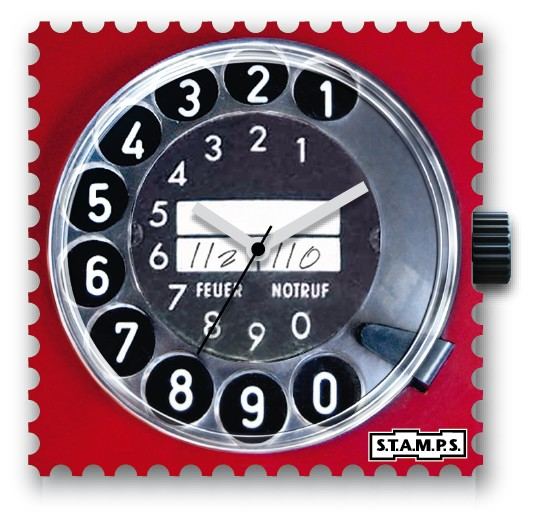 S.T.A.M.P.S. - Uhr - Call Me - Stamps