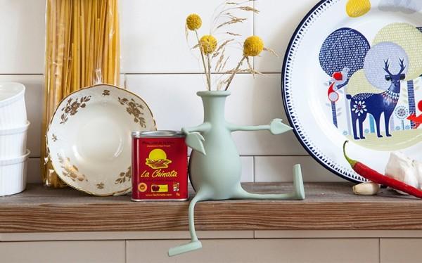 Peleg Design - Flexible Blumenvase - Florino - mint