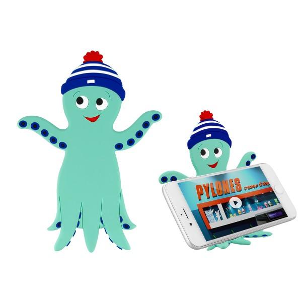 Pylones - Flexibler Handyhalter Smartphone-Ablage Ani-Stand - Octopus