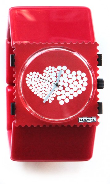 S.T.A.M.P.S. - Armband Belta Rot - ohne Uhr - Stamps
