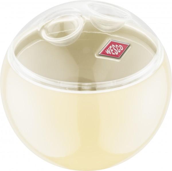 Wesco - Aufbewahrungsbehälter Vorratsdose Kugel - Mini Ball - mandel