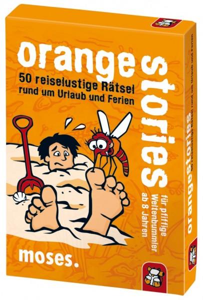 Moses Verlag - Orange Stories - 50 reiselustige Rätsel