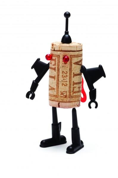 Monkey Business - Pin-Nadeln für Korken - Corkers Robots - Yuri