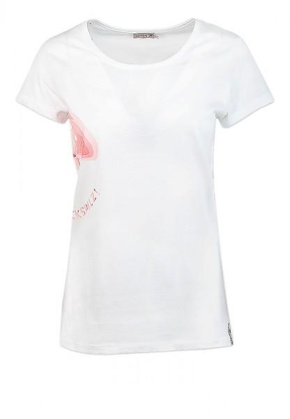 Adelheid - Glückspilz Nachtleibchen Nachthemd - baumwollweiss