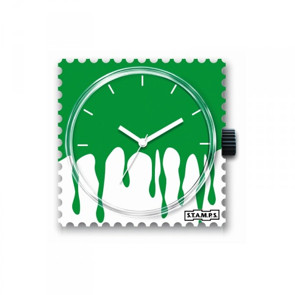 S.T.A.M.P.S. - Uhr - Floating Green - Stamps