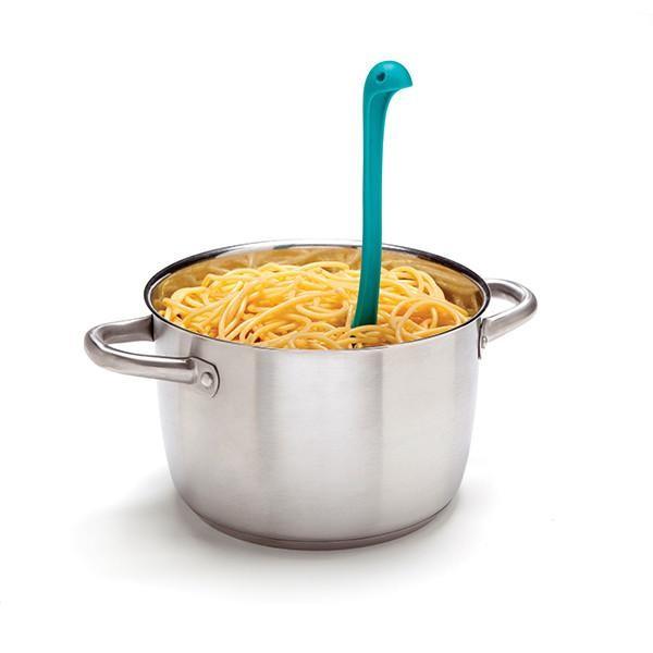 Ototo - Spaghettilöffel Pastalöffel - Loch Ness Papa Nessie - blau