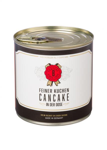 Rührkuchen aus der Dose mit Kerze Cancake - Whiskey