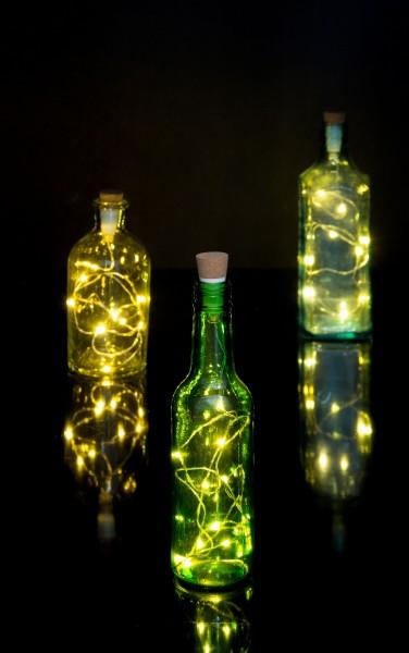 Suck.Uk - Flaschenlicht mit Lichterkette - String Bottle Light